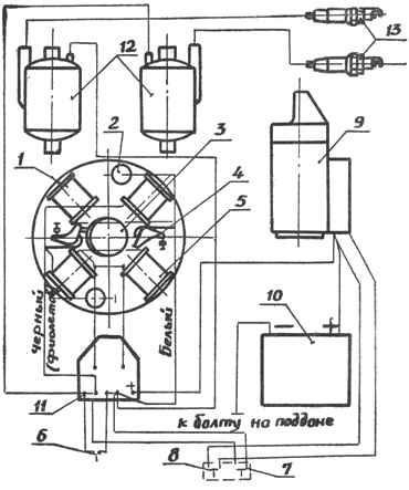 Как сделать электронное зажигание вихрь